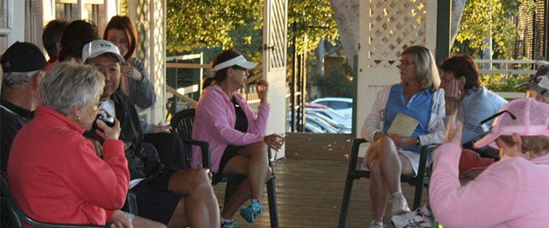 Tennis members Social
