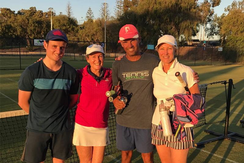 Adult Social Tennis