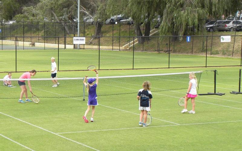 Junior Tennis at Claremont Tennis Club