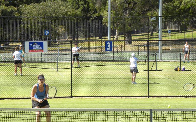 members social tennis