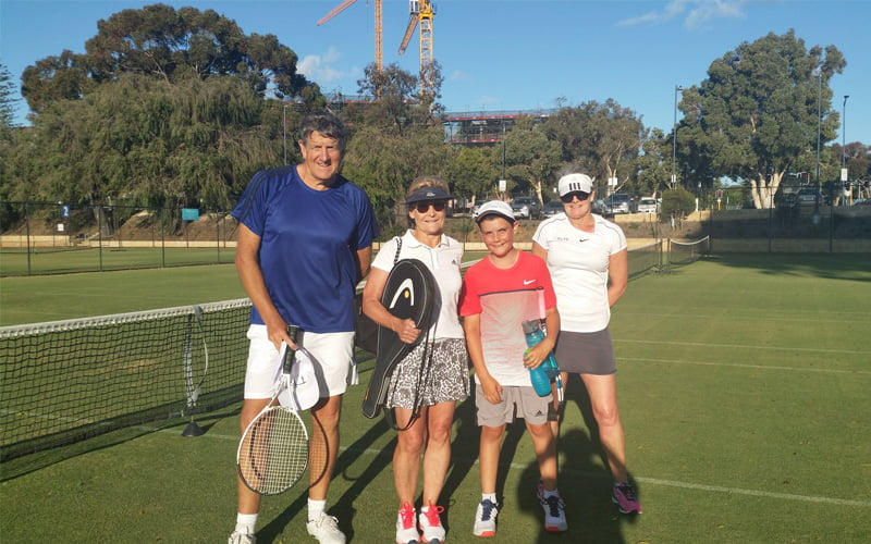 Social Tennis winners