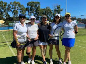 Ladies Tennis Champions